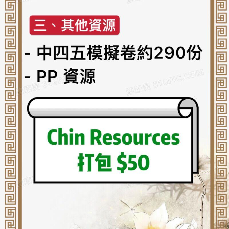 Chin Resources