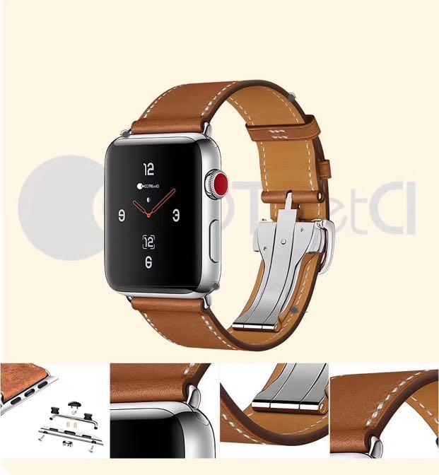Apple Watch Genuine Leather Strap