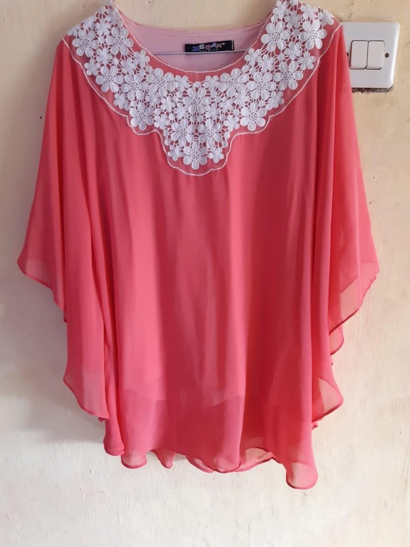 Baju Wanita Peach