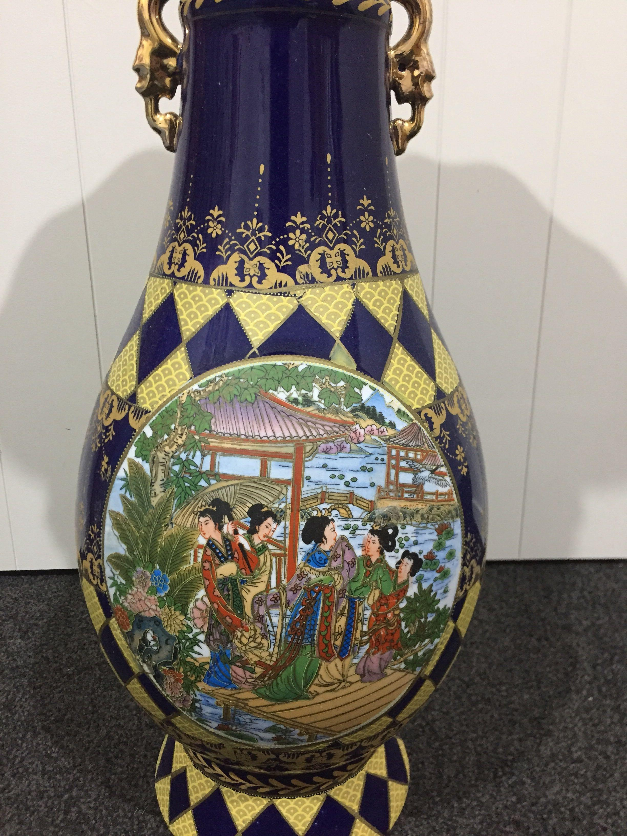 Big antique vase