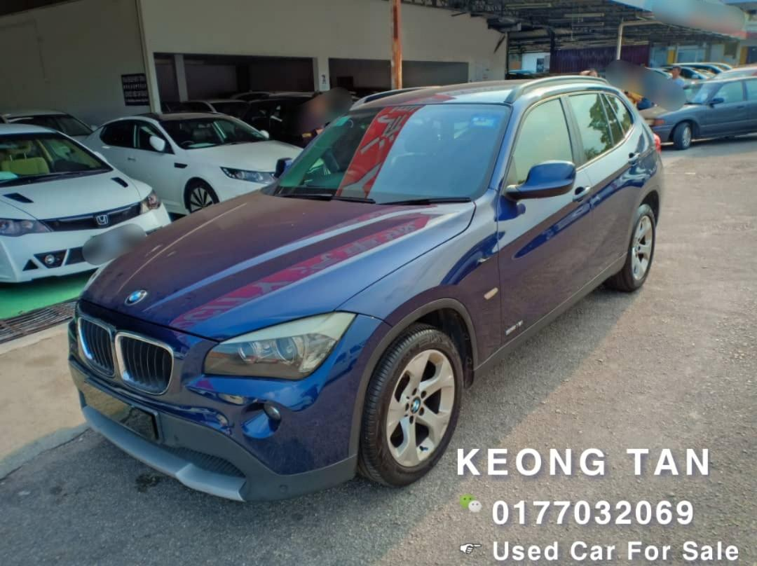 BMW X1 2.0AT ssDrive18i PETROL 2012TH 6XXXXKM Only 🎉TipTop Condition/LEATHER SEAT Cash🎉OfferPrice Rm56,500 Only👍 Interested Call📲Keong 0177032069🤗