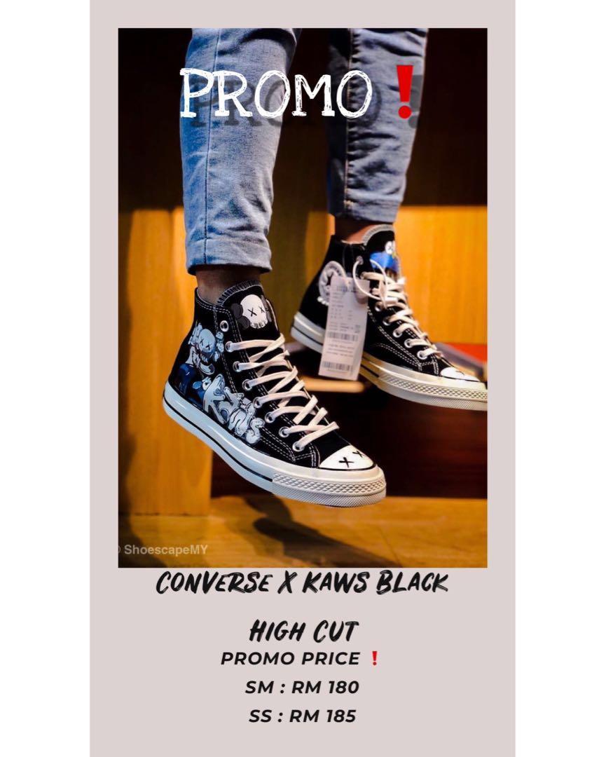 converse x kaws price
