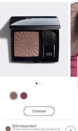Dior Rouge Blush Couture Colour Long Wear Pwoder Blush
