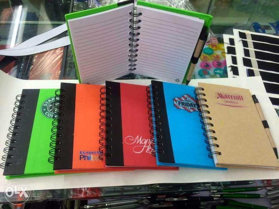 Eco Notebook Printing for Company Corporate Giveaways Planners Spiral  Printing Services