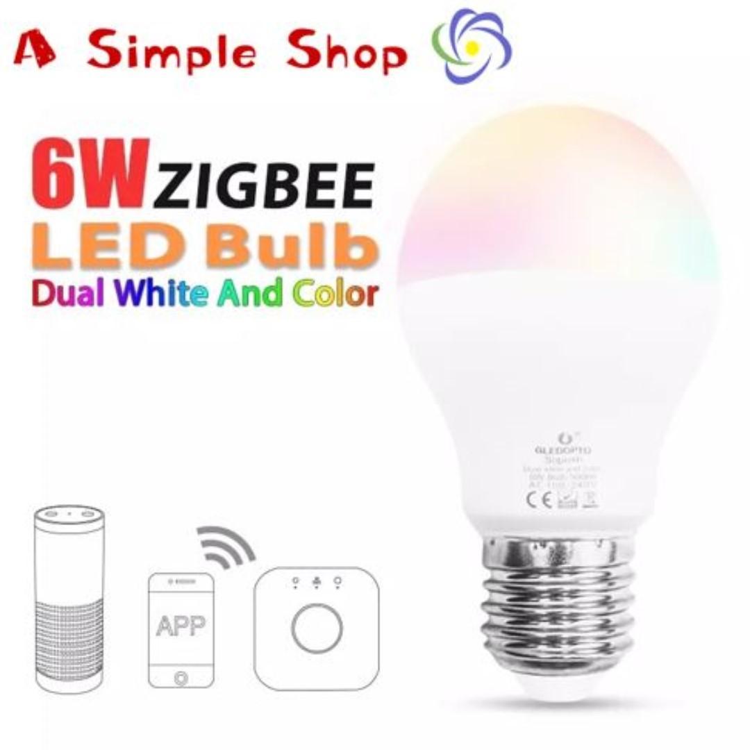 quality design da046 a1a38 Gledopto Zigbee 6W Bulb compatible with philips hue and ...