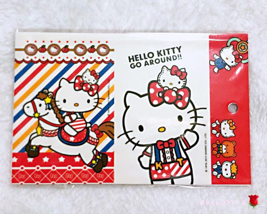 Hello Kitty卡貼組🐱