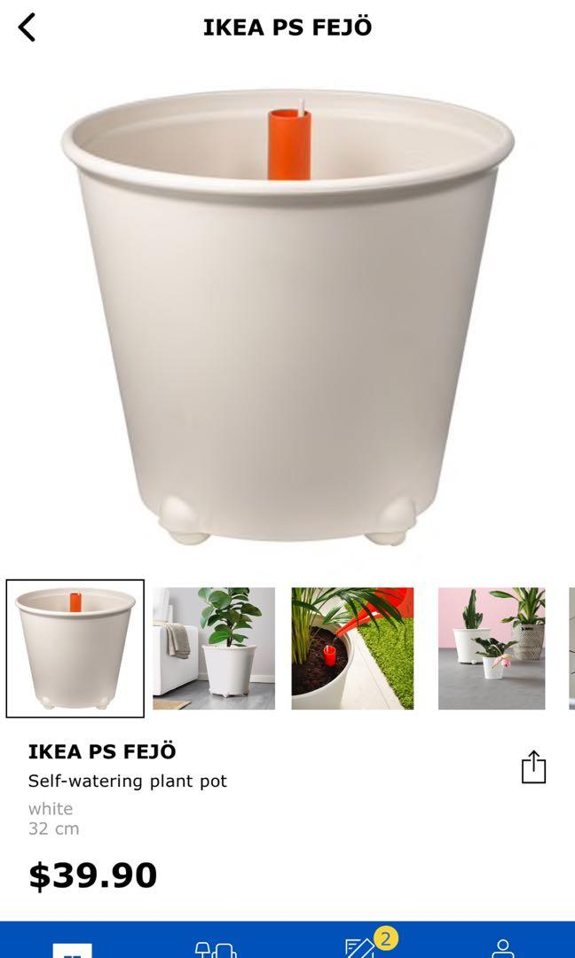 Ikea Self Watering Plant Pot With