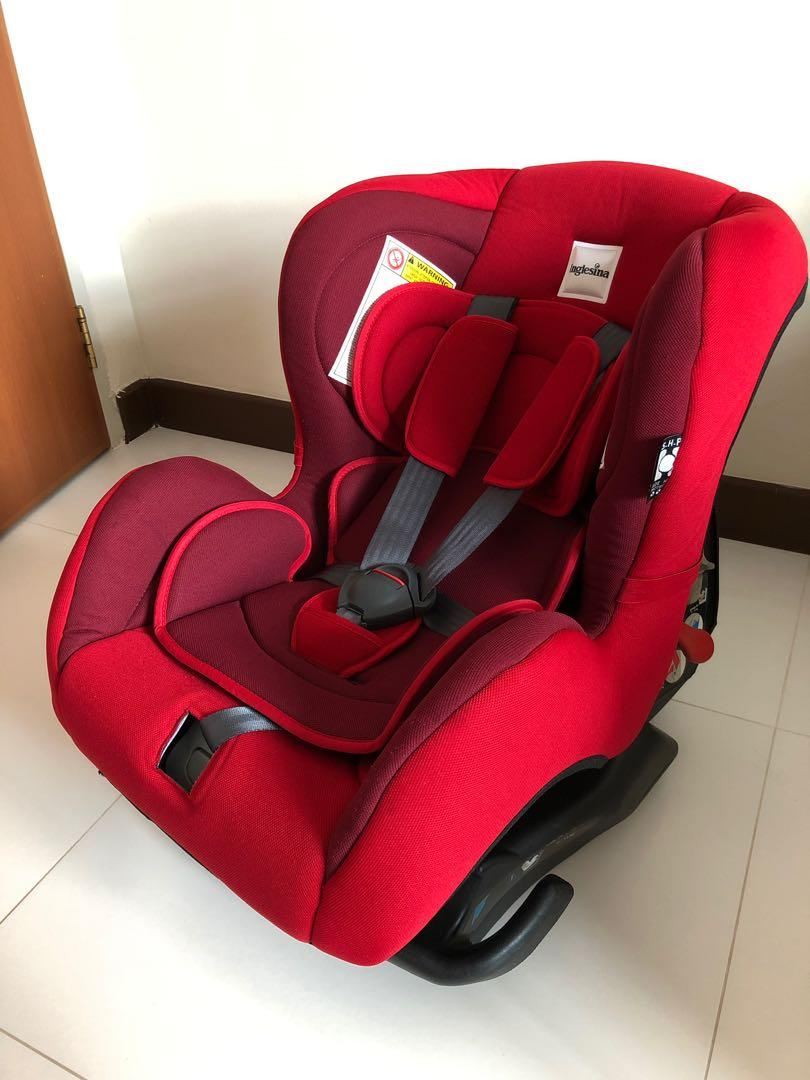 Inglesina Marco Polo Car Seat Red Babies Kids Strollers Bags Carriers On Carousell