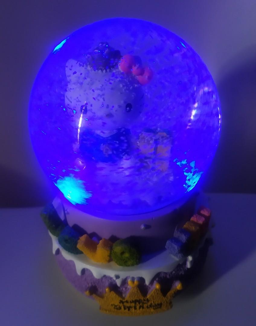 Kitty 音樂水晶球