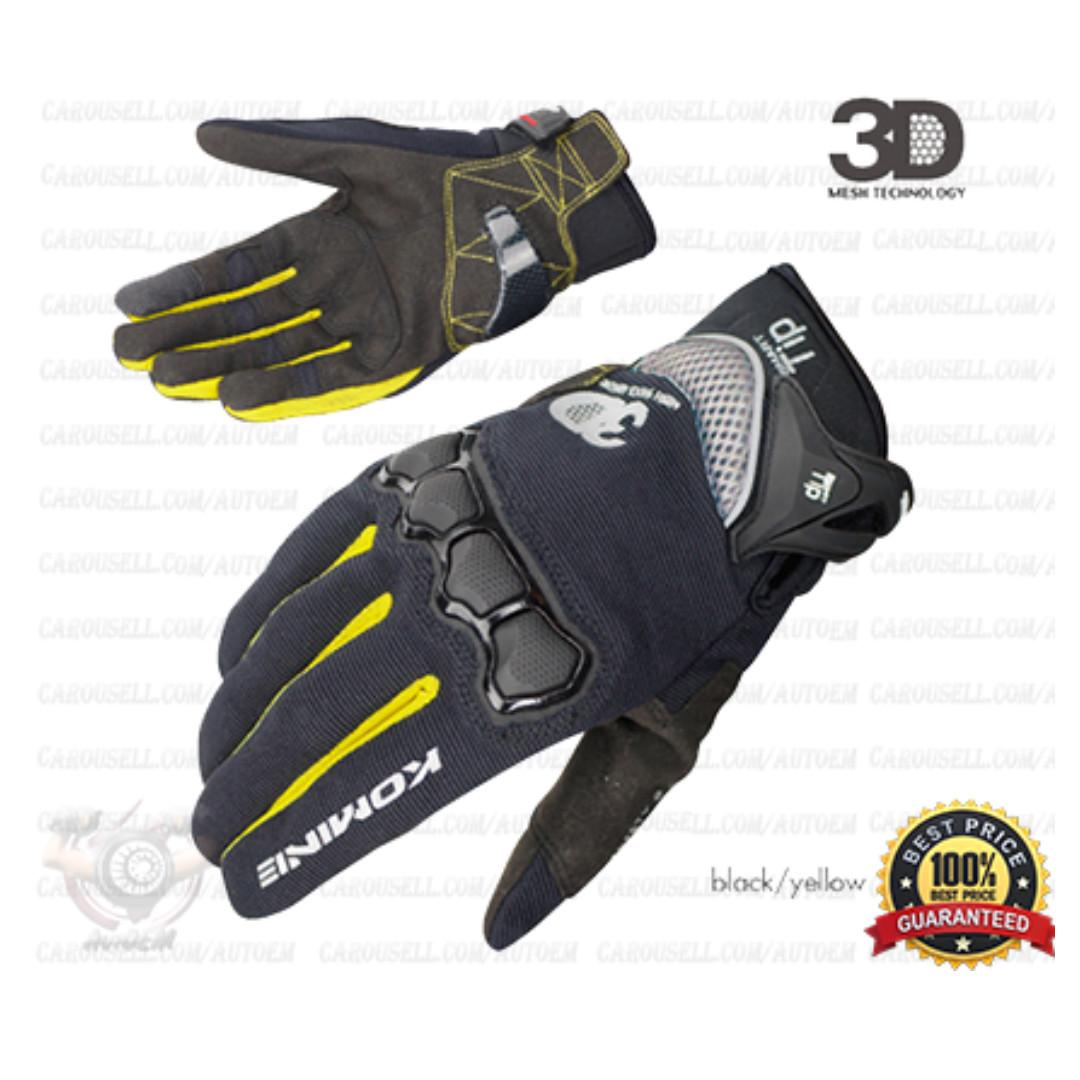 Komine Smart Gloves (Touchscreen Enabled)