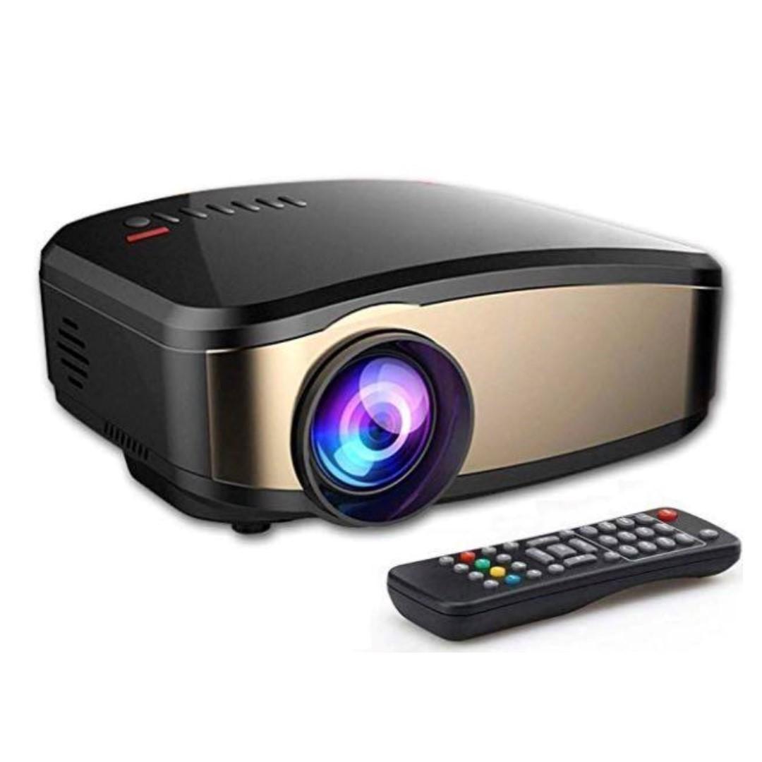 1080P HD WiFi Multimedia Mini Projector Home Theater Cinema HDMI USB