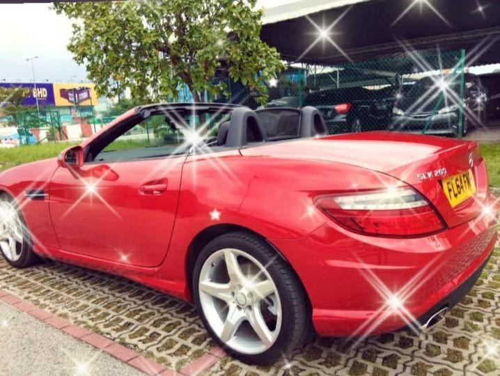 MERCEDES SLK200 CGI Coupe YEAR:2014✔Recon✔on the road~rm168,888.88☺HP0122367272SENGSENG☺🙏