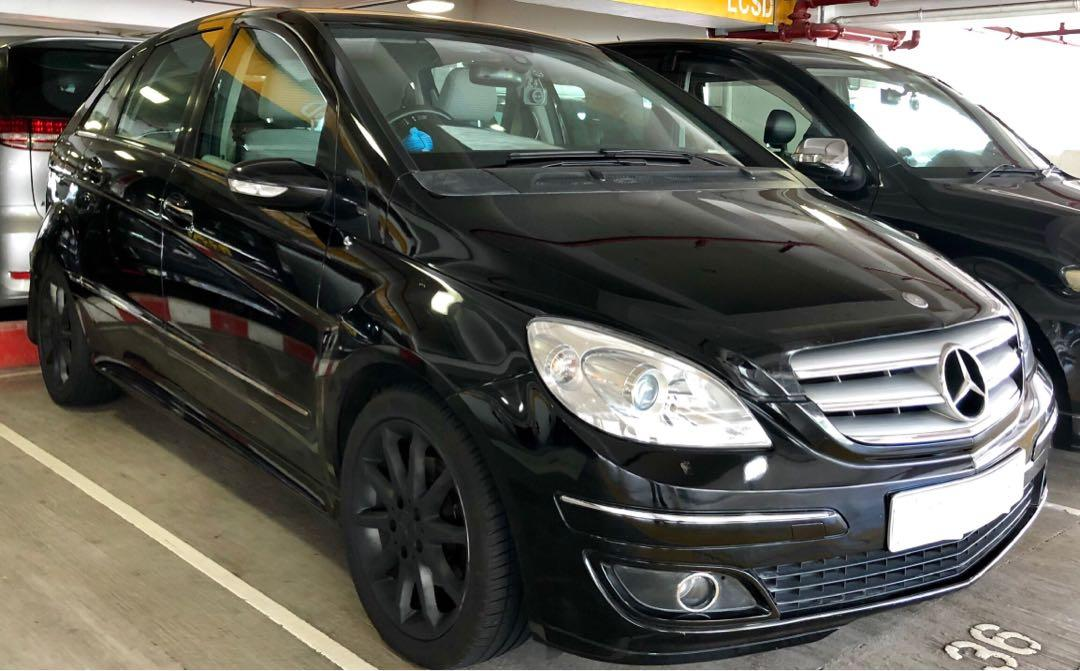 MERCEDES-BENZ B200 turbo 2.0 2006