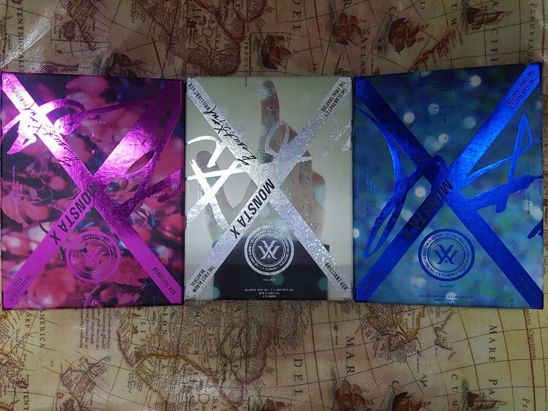 MONSTA X The Clan Pt. 2.5: The Final Chapter (Beautiful Album)