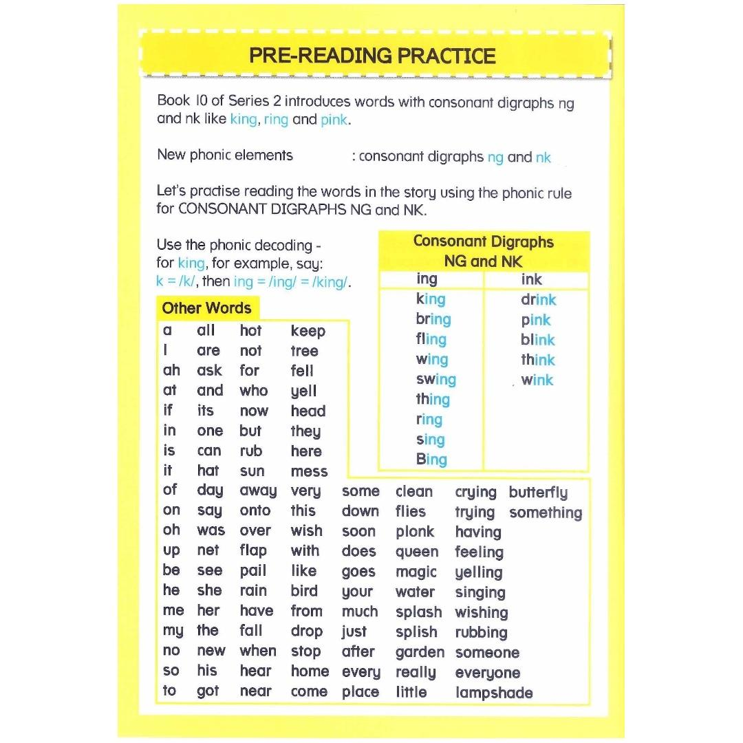 Phonics in Reading Series 2: Book 10 - The King and the Ring   Children's Book   Early Readers