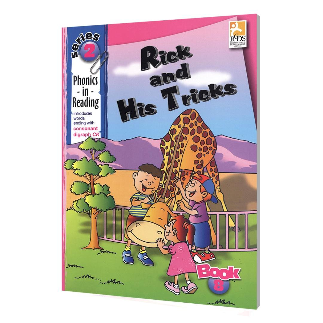 Phonics in Reading Series 2: Book 8 - Rick and His Tricks | Children's Book | Early Readers