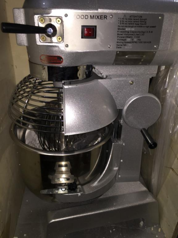 Planetary Mixers 3-speed 3 attachments (Brand New with WRTY