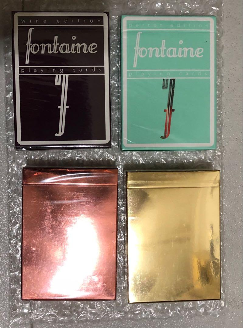 Fontaine Carrots V2 Playing Cards Sold Out Sealed Deck*Only 10,000 printed RARE*