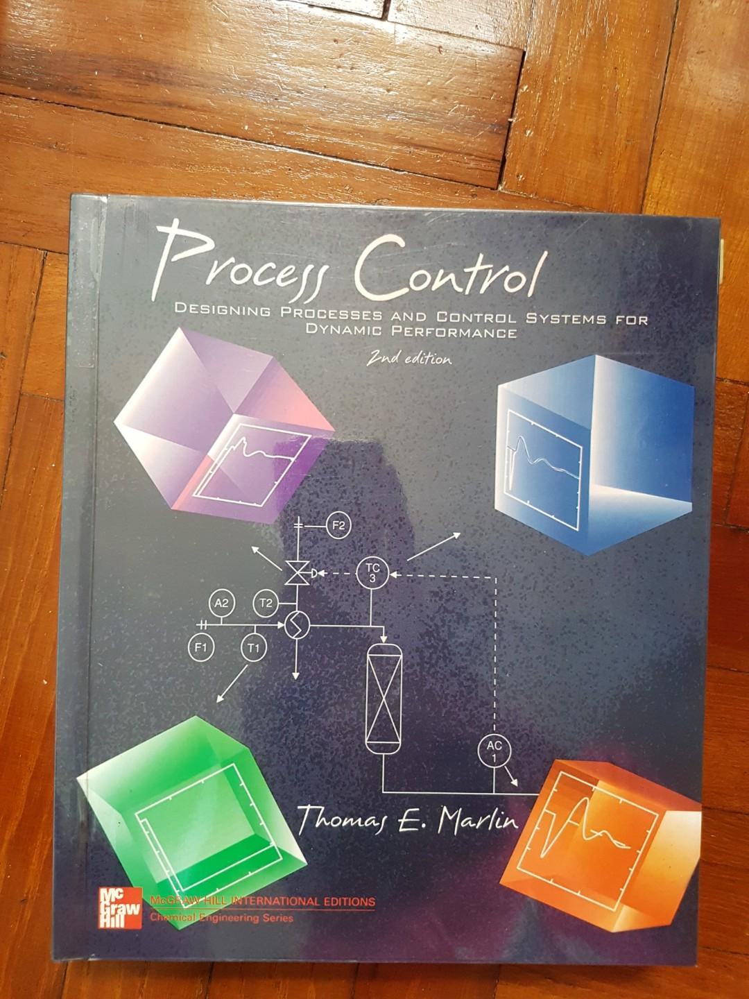 Process Control Thomas E Marlin Books Stationery Textbooks Professional Studies On Carousell