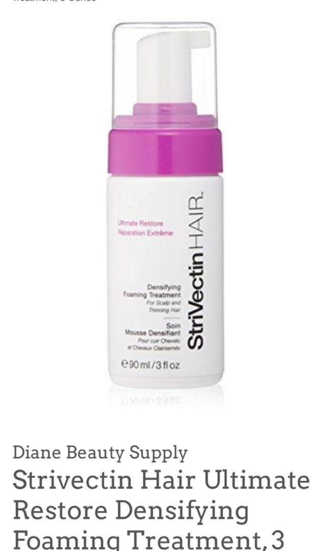 StriVectin HAIR Ultimate Restore Hair Densifying Foaming Treatment for Scalp and Hair