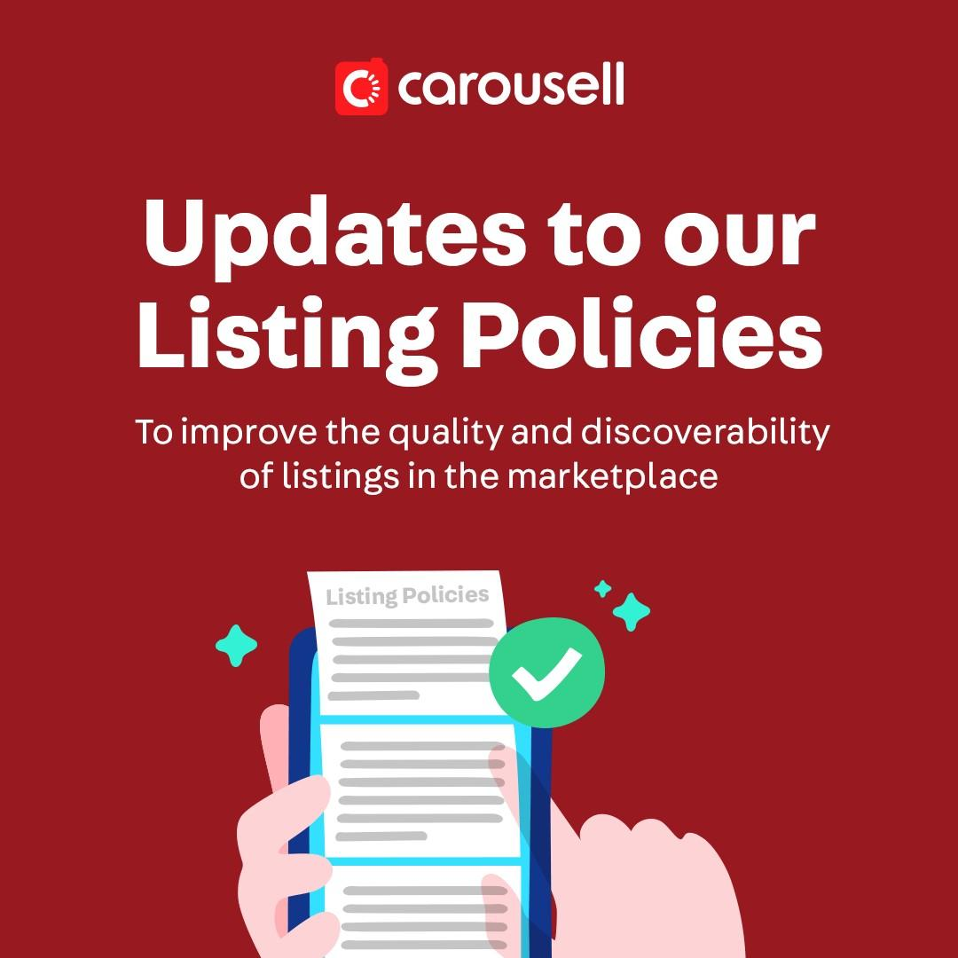 Updates to Listing Policies 🖋