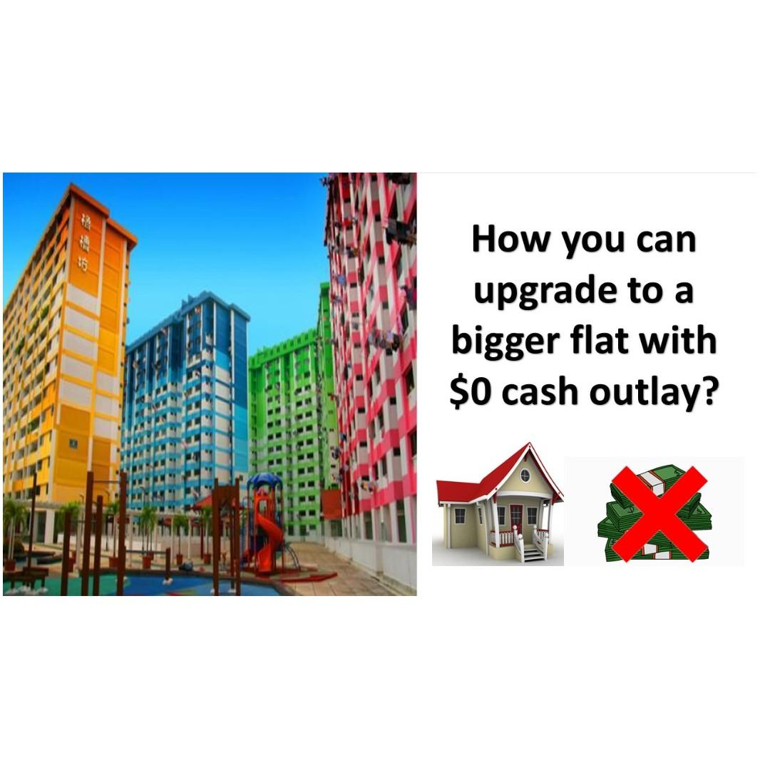 Upgrade with $0 cash outlay