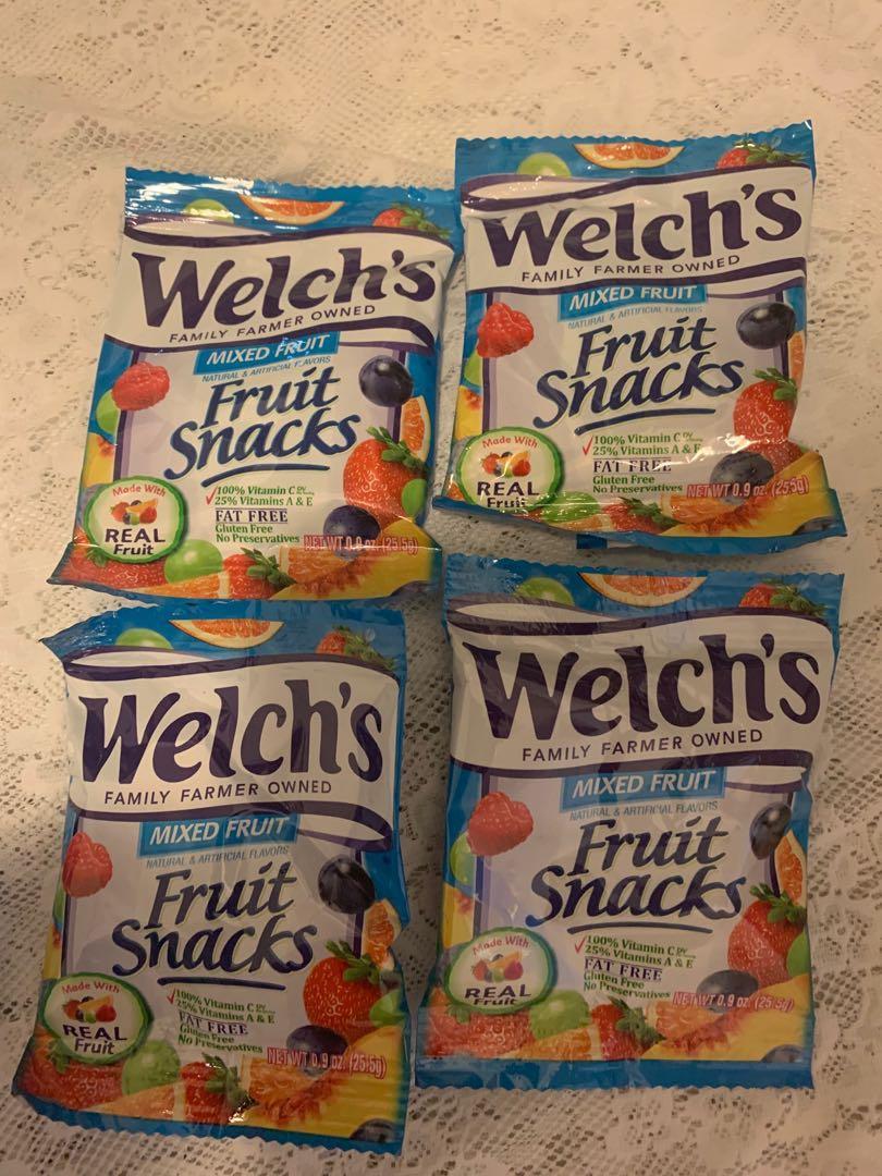 Welch's - 100%維他命C 天然果汁軟糖 25.5g(現貨)