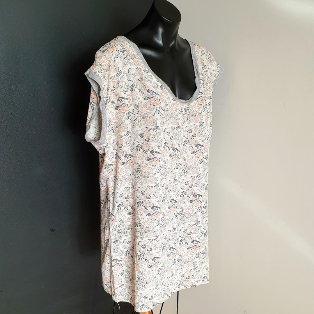 Women's size 12 'TIGERLILY' Gorgeous multicoloured paisley print tunic top/dress