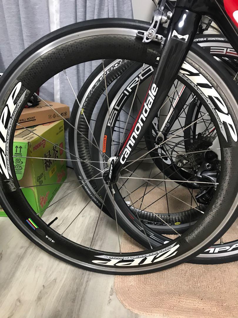 Zipp 404 Cliner with SHIMANO Ut 10speed Wheelset