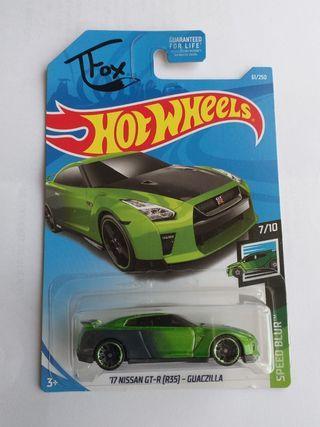 Nissan GTR R35 Guaczilla TFox Hotwheels Hot Wheels