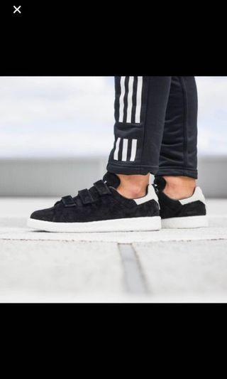 Adidas Stan Smith Velvet Black