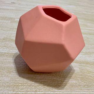 workinghouse 生活工場 不規則 花瓶 粉紅色