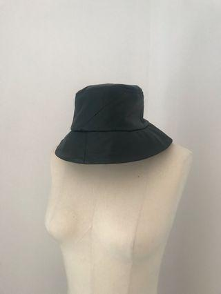 Frankie Collective Reworked Leather Bucket Hat