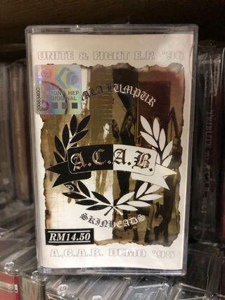 Kaset ACAB - Demo 95, Unite & Fight 96