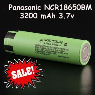 Panasonic NCR18650BM 3200mAh Li-ion 18650 battery
