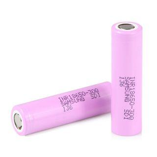 Samsung 30Q Flat Top 3000mAh 15A Li-ion INR 18650 Battery