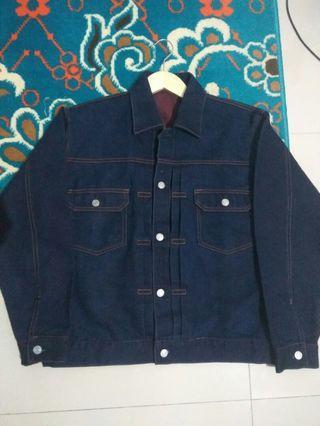 Denim Jacket Type II Blue Indigo