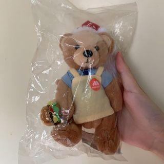 全新 摩斯可口可樂耶誕熊