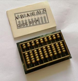 Vintage Abacus paper weight