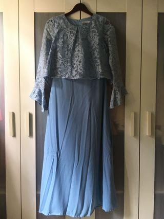 Babyblue Lace Dress