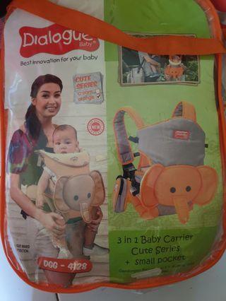 Gendongan Dialogue 3 in 1 Baby Carrier + Pocket DGG4128