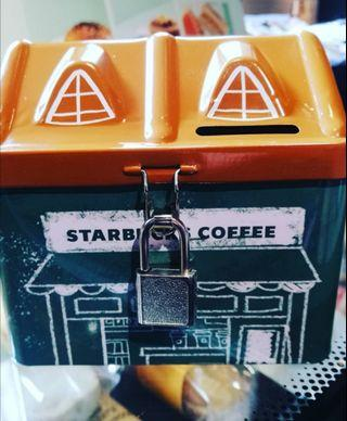 🆕 Starbucks Limited Edition Mini Cafe Coin Box