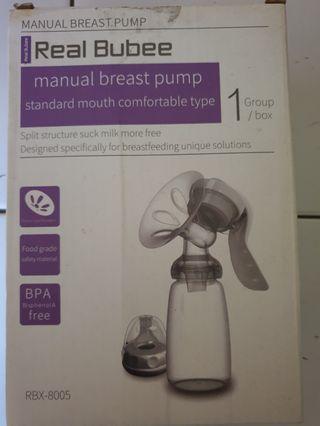 Manual Breast Pump Real Bubee