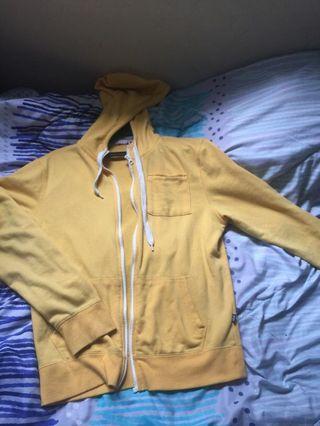 Mustard hoodie
