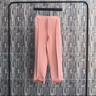 Pink Casual Pants