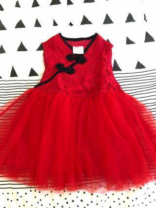 Cheongsam dress baby
