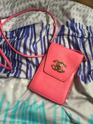 Chanel sling pouch