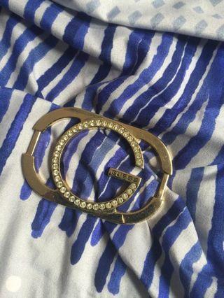 Guess studded belt buckle