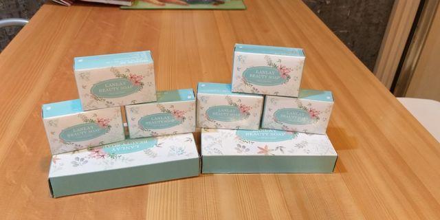 蘭麗綿羊香皂2盒(共6入)