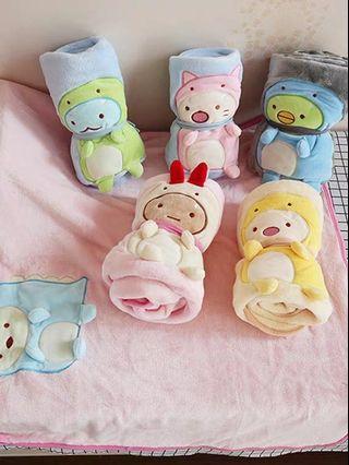 Sumikko Gurashi Foldable Blanket